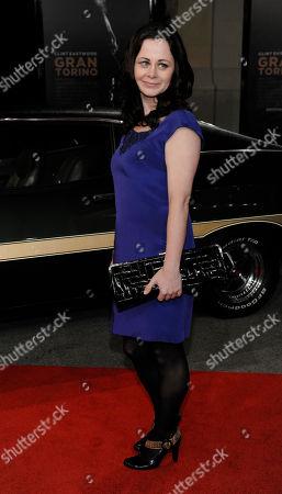 "Geraldine Hughes Gran Turino"" cast member Geraldine Hughes poses at the premiere of the film at Warner Bros. Studios in Burbank, Calif"