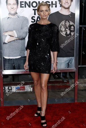 """Jamie Pressly Jamie Pressly arrives at the premiere of """"I Love You, Man"""" in Los Angeles on"""