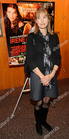 "Victoria Tennant Victoria Tennant, a cast member in ""Irene in Time,"" poses at the premiere of the film in Los Angeles"