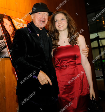 """Henry Jaglom, Sabrina Jaglom Henry Jaglom, left, writer and director of """"Irene in Time,"""" poses with his daughter, cast member Sabrina Jaglom, at the premiere of the film in Los Angeles"""