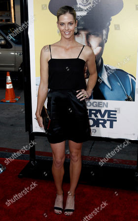 "Anna Rawson Anna Rawson arrives at the premiere of ""Observe and Report in Los Angeles on"
