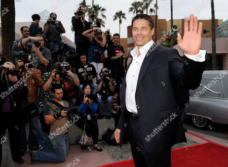 """Roland Kickinger Roland Kickinger, a cast member in the vampire film """"Raven,"""" arrives at the premiere of the film at the Academy of Television Arts & Sciences in Los Angeles"""