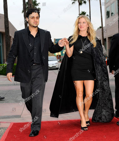 """Gregori J. Martin, Alicia Leigh Willis Gregori J. Martin, left, director of the vampire film """"Raven,"""" escorts cast member Alicia Leigh Willis down the red carpet at the premiere of the film at the Academy of Television Arts & Sciences in Los Angeles"""