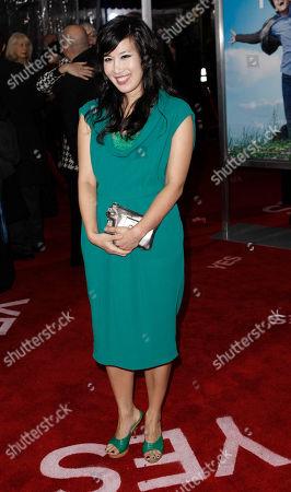 """Vivian Bang Vivian Bang arrives at the premiere of """"Yes Man"""" in Los Angeles on"""