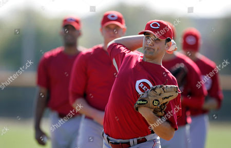 James Avery Cincinnati Reds pitcher James Avery throws to the plate during spring training baseball, in Sarasota, Fla