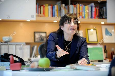 Ruth Reichl Gourmet magazine editor Ruth Reichl is interviewed in her office in New York