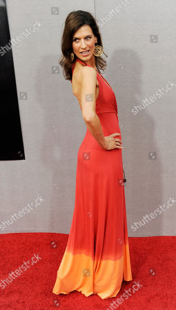 """Perry Reeves Perry Reeves arrives at the premiere for the second season of the HBO show """"True Blood"""" in Los Angeles"""