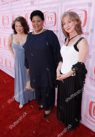 Stock Picture of Lily Mariye, Yvette Freeman, Ellen Crawford Lily Mariye,left, Yvette Freeman,center, and Ellen Crawford arrive at the TV Land Awards on in Universal City, Calif