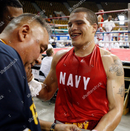 Henry Valdex Henry Valdez is all smiles after his win over Hasim Rahman, Jr., in their heavyweight fight at the U.S. Boxing Championships in Denver., on