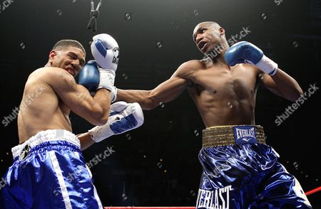 Winky Wright, Paul Williams Winky Wright, left, and Paul Williams spar during the first round of a middleweight boxing match in Las Vegas