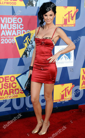Stock Image of Jade Nicole Jade Nicole arrives at the 2008 MTV Video Music Awards held at Paramount Pictures Studio Lot, in Los Angeles