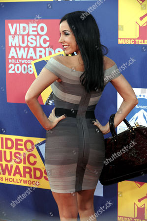 Myra Veronica Singer Mayra Veronica arrives at the 2008 MTV Video Music Awards held at Paramount Pictures Studio Lot, in Los Angeles