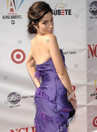 Anna Ortiz Actress Anna Ortiz arrives at the National Council of La Raza ALMA Awards in Pasadena, Calif. on