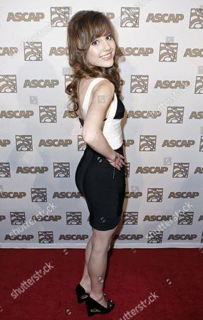 Lara Johnston Lara Johnston arrives at the 21st annual ASCAP Rhythm & Soul Music Awards in Beverly Hills, Calif. on