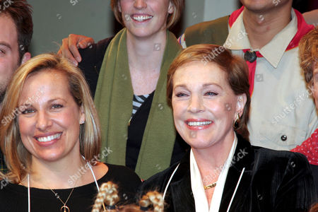 Julie Andrews with her daughter Emma Walton Hamilton