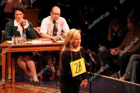 Editorial image of Julie Andrews joins the cast of 'The 25th Annual Putnam County Spelling Bee' musical as a guest speller, Circle in the Square Theatre, New York, America - 30 Jan 2007
