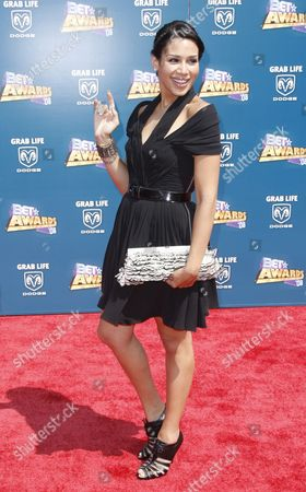 Kid Sister Kid Sister arrives at the BET Awards on in Los Angeles