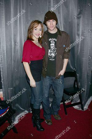 Diana DeGarmo and Ashley Parker Angel