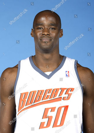 Stock Photo of Emeka Okafor Charlotte Bobcats Emeka Okafor during media day activities in Charlotte, N.C