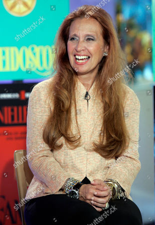 """Danielle Steel Author Danielle Steel is interviewed during her appearance on the NBC """"Today"""" television show in New York"""