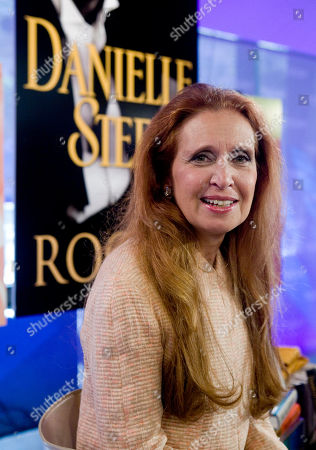 """Danielle Steel Author Danielle Steel poses for photos after her appearance on the NBC """"Today"""" television show in New York"""