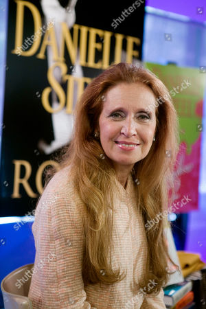 """Danielle Steel Author Danielle Steel poses for a photo after her appearance on the NBC """"Today"""" television show in New York"""