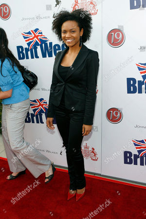 Syesha Mercado Syesha Mercado arrives at the Britweek launch party at the British Consul Generals' residence in Los Angeles on