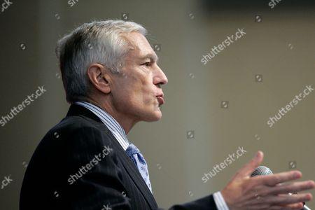 Editorial picture of Clark Future Of Conflict, Dallas, USA