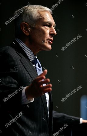 """Wesley K. Clark Former Supreme Allied Commander in Europe, General Wesley K. Clark U.S. Army Ret., addresses an audience at Southern Methodist University in Dallas . General Clark spoke on the topic of """"The Future of Conflict"""": Military Roles and Mission"""