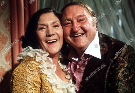 Queenie Watts and Arthur Mullard in 'Yus My Dear' - 1976