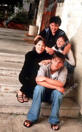 'Fitz' - 1997 - Robert Pastorelli Middle L-R: Carolyn McCormick and Sally Livingston Front: Josh Hartnett