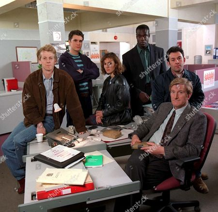 'The Knock' - 1996 - Marston Bloom, Daniel Brown, Sarah Malin, Steve Toussaint, Enzo Squillino Jnr and Malcolm Storry