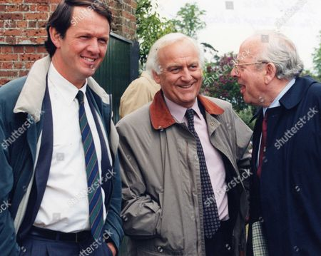 Kevin Whately, John Thaw and James Grout in 'Inspector Morse' - 1995
