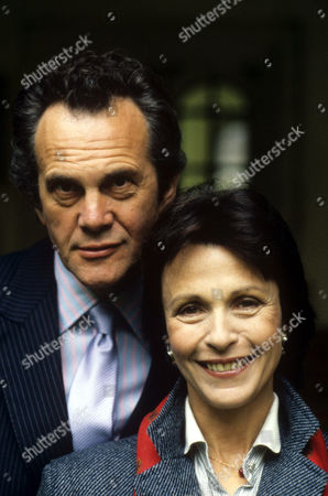 Daniel Massey and Claire Bloom in 'Intimate Contact' - 1987