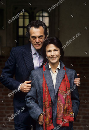 Claire Bloom and Daniel Massey in 'Intimate Contact' - 1987