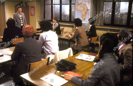 Barry Evans [L] in 'Mind Your Language' - 1978