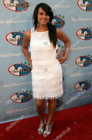 Jasmine Richards Jasmine Richards poses at the Disney Channel Games in Lake Buena Vista, Fla