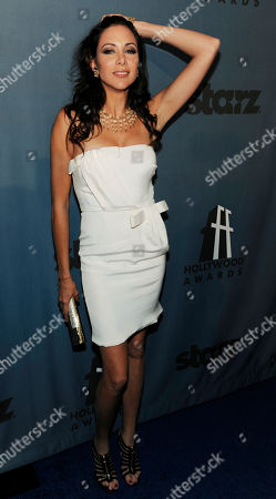Arlene Tur Arlene Tur poses at the 12th Annual Hollywood Film Festival After Party in Beverly Hills, Calif