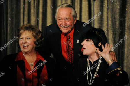Milt Larsen, Joanne Worley, Arlene Larsen Magic Castle co-founder Milt Larsen poses with actress JoAnne Worley, right, and his wife Arlene at the Magic Castle in Los Angeles