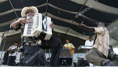 Nathan Williams, Mark Williams Nathan Williams, left, of Nathan & the Zydeco Cha Chas performs during the 2008 New Orleans Jazz & Heritage Festival at the New Orleans Fairgrounds Racetrack in New Orleans, . At right is rubboard player Mark WIlliams