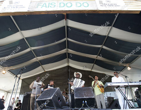 Nathan Williams Nathan Williams of Nathan & the Zydeco Cha Chas performs during the 2008 New Orleans Jazz & Heritage Festival at the New Orleans Fairgrounds Racetrack in New Orleans