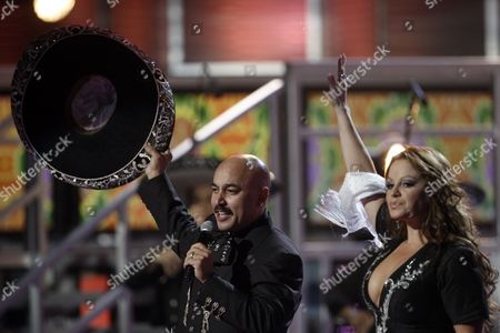 Lupillo Rivera, Jenni Rivera Lupillo Rivera, left, and Jenni Rivera perform at the 9th annual Latin Grammy Awards on in Houston