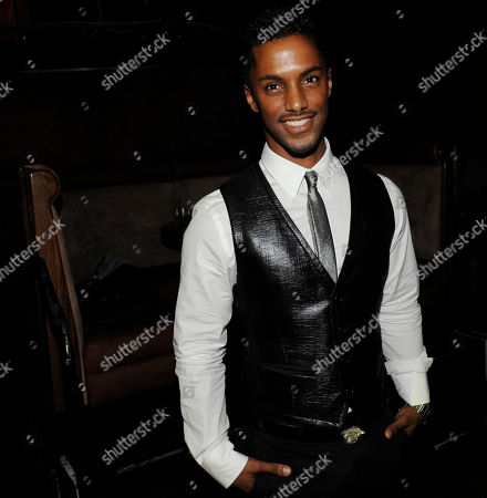 """Darryl Stephens Noah's Arc: Jumping the Broom"""" cast member Darryl Stephens poses at the post-premiere party for the film in Los Angeles"""