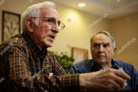 Joseph Costa, Richard Parsons Joseph Costa, left, makes remarks as Richard Parsons listens during an interview with the Associated Press at the Maris Grove Retirement Community in Glen Mills, Pa