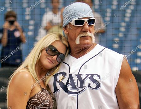 Hulk Hogan, Jennifer McDaniel Restler Hulk Hogan, right, and his then girlfriend, Jennifer McDaniel, watch the New York Yankees take batting practice before a baseball game against the Tampa Bay Rays in St. Petersburg, Fla. The celebrity wrestler and McDaniel were married at Hogan's Clearwater Beach home, during a small, private ceremony, his attorney said