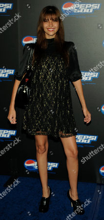 Tamara Feldman Tamara Feldman arrives for the Pepsi 500 Running Wide Open event in Los Angeles