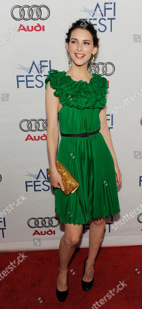 """Liane Balaban Liane Balaban, a cast member in """"Last Chance Harvey,"""" poses at the premiere of the film during AFI Fest 2008 in Los Angeles"""