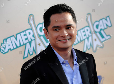 """Rodney To Rodney To arrives at the premiere of the MTV movie musical """"The American Mall"""" in Los Angeles"""