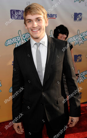"""Neil Haskell Neil Haskell arrives at the premiere of the MTV movie musical """"The American Mall"""" in Los Angeles"""