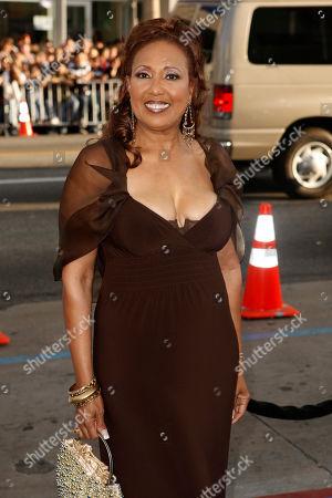 """Telma Hopkins Telma Hopkins arrives at the premiere of """"The Love Guru"""" in Los Angeles on Wedneday"""
